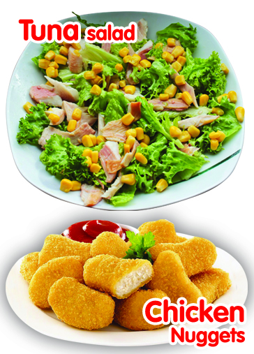 Tuna Salad - Chicken Nuggets